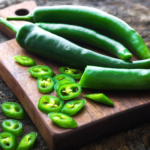 benefits of green chilli