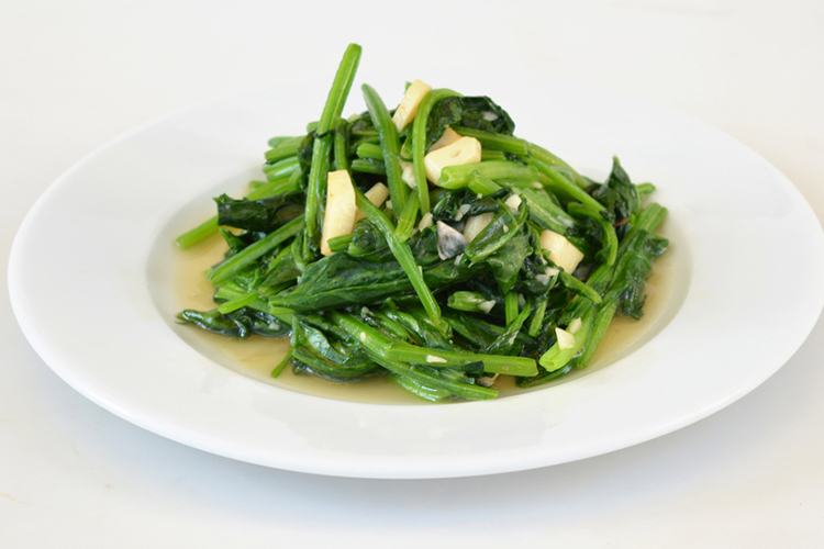 stir-fried-garlic-spinach