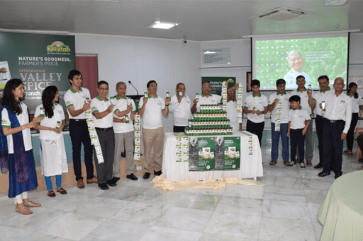 Launch of Jain Farm Fresh Spices