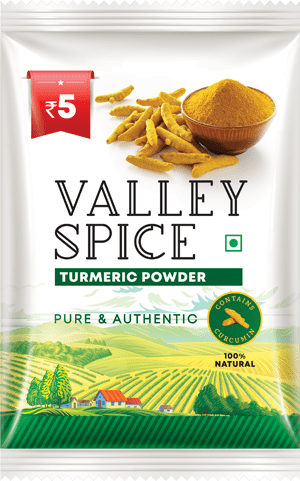 Valley Spice Turmeric Powder 10g Sachet