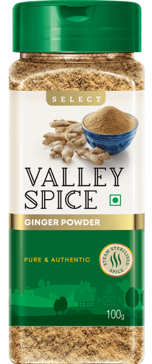 Valley Spice Ginger Powder 100g Bottle