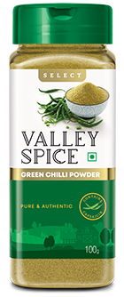 Valley Spice Green Chilli 100g